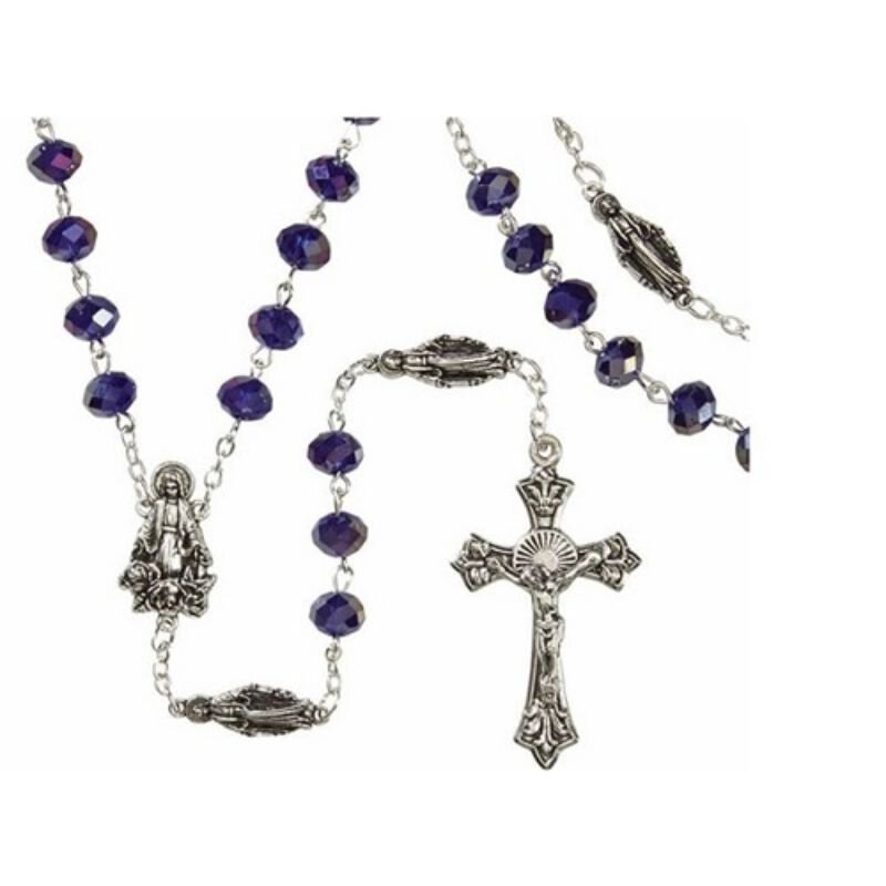 Marian Sapphire Rosary