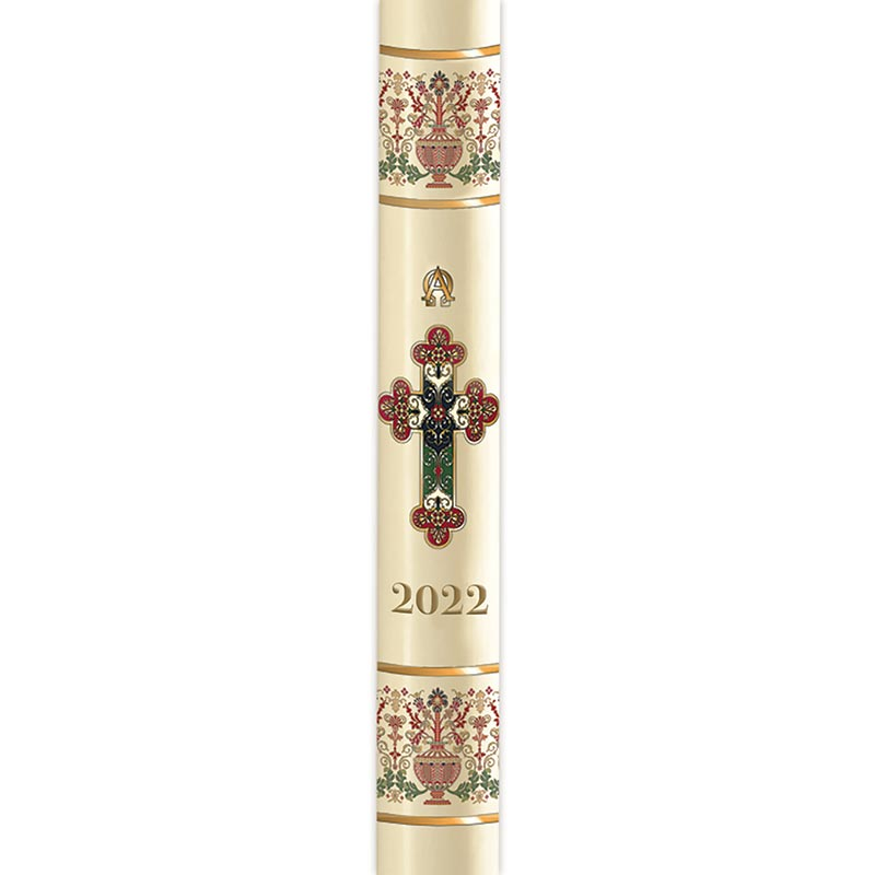 No 8 Coronation Paschal Candle