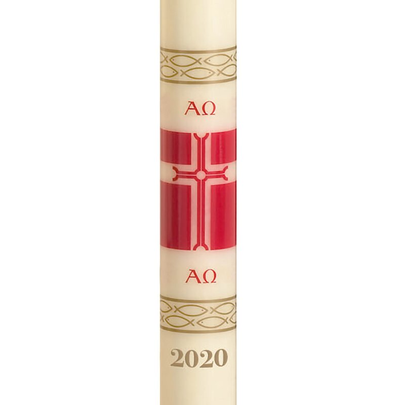 No 9 Alleluia Paschal Candle