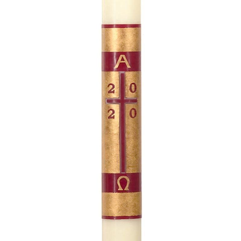 No 9 Redemption Paschal Candle