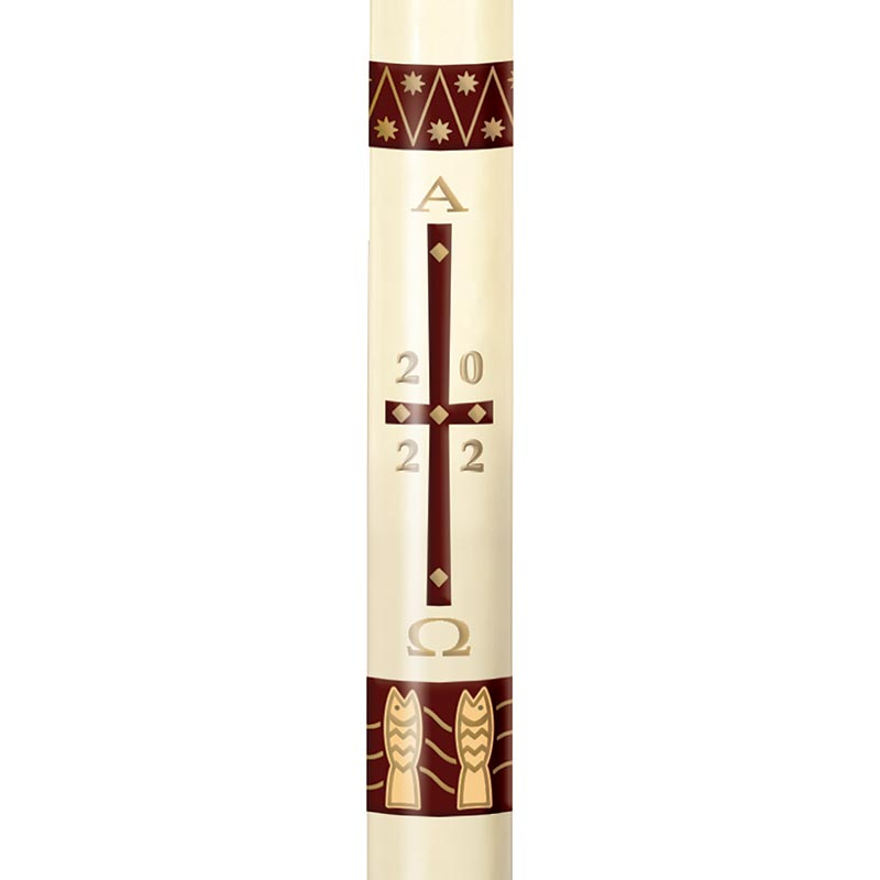 No 11 Fishers of Men Paschal Candle