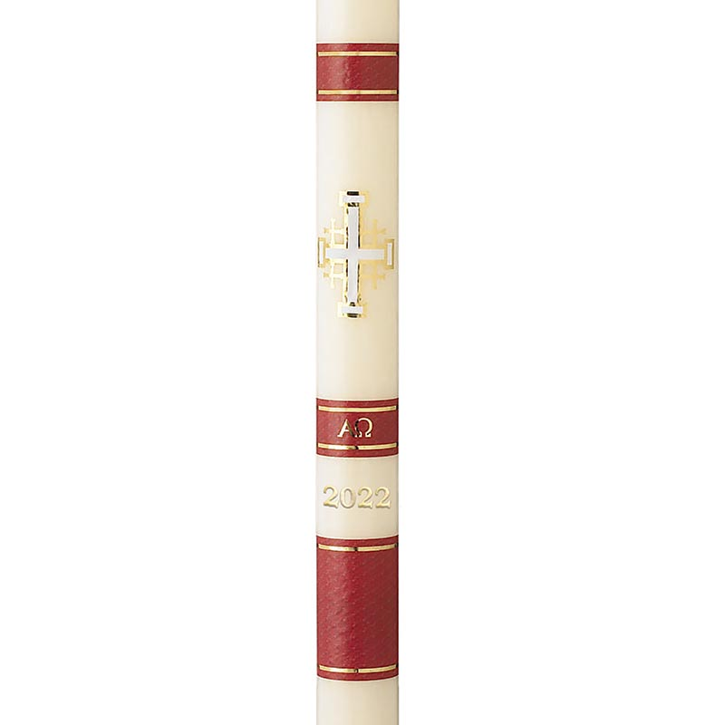 No 6 Special Jerusalem Paschal Candle