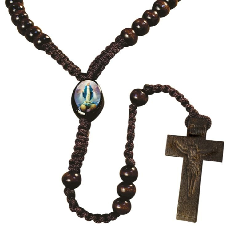 Our Lady of Grace Cord Rosary - 18/PK