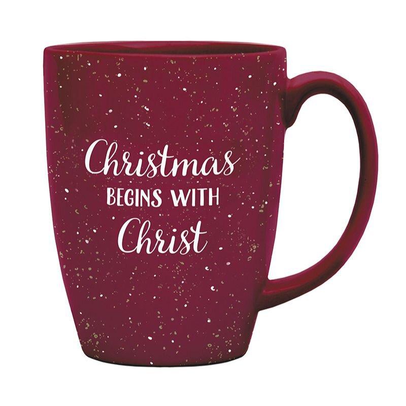 Christmas Begins with Christ Gift Mug - 6/pk