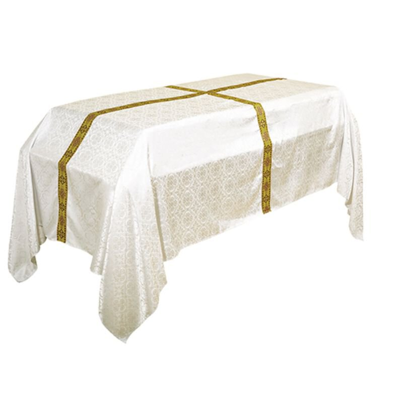 10' Avignon Collection Funeral Pall - Ivory