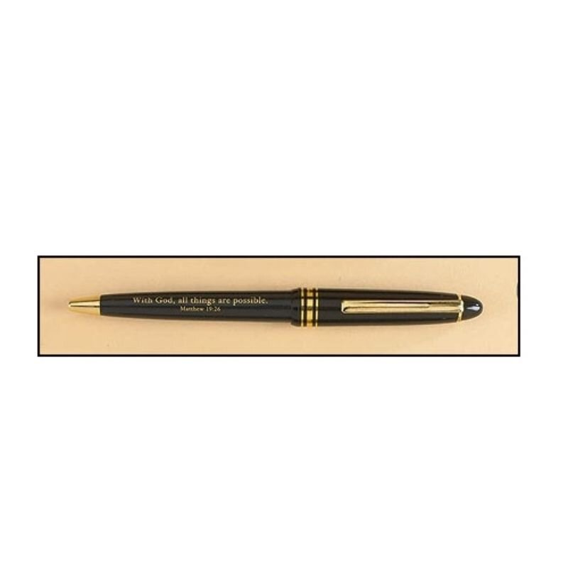 With God All Things Are Possible Pen - 50/pk