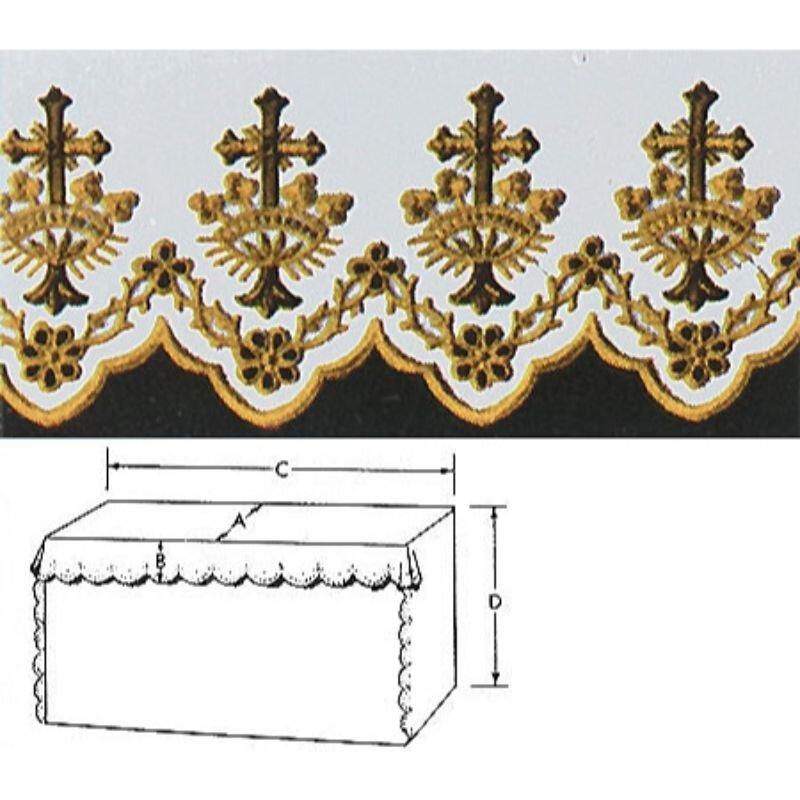 Cross/Crown Altar Cloth