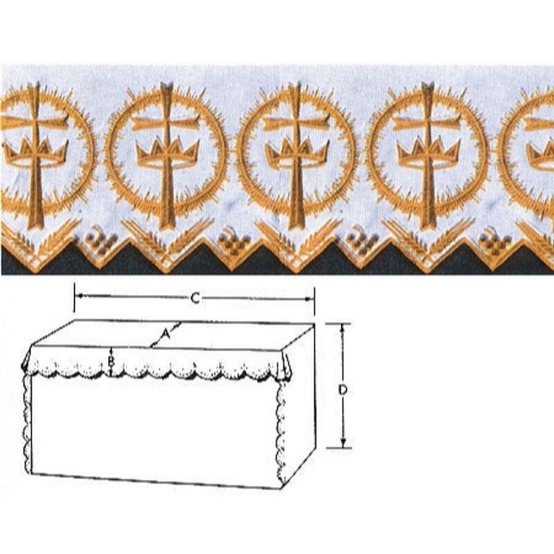 Crown/Cross Altar Linen