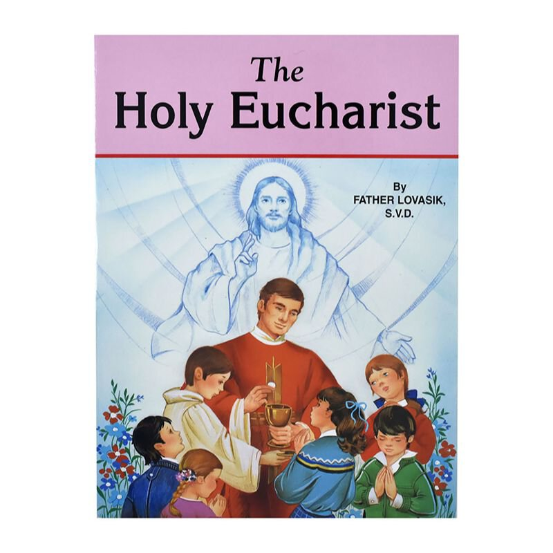 St. Joseph Picture Book - The Holy Eucharist - 10/pk