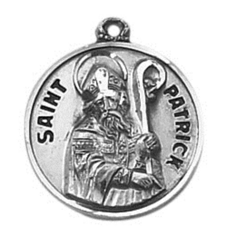 Creed® Sterling Patron Saint Patrick Medal