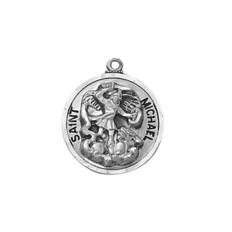 Creed® Sterling St Michael Patron Saint Medal