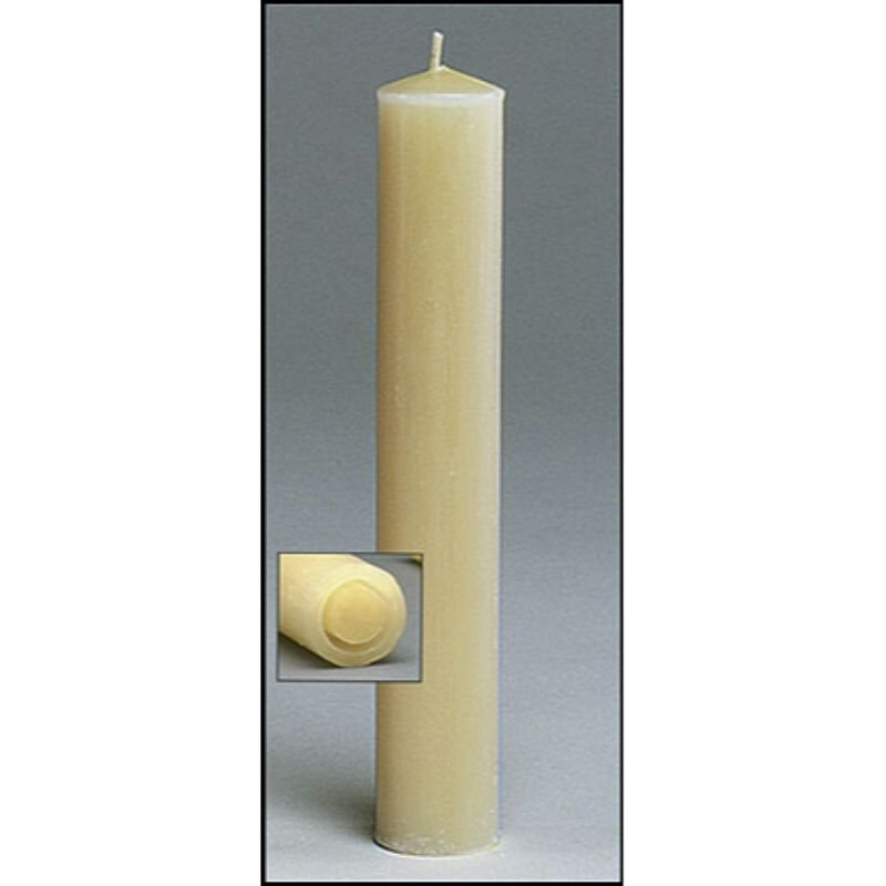 1.5 X 9 100% Beeswax Candle - 12/pk