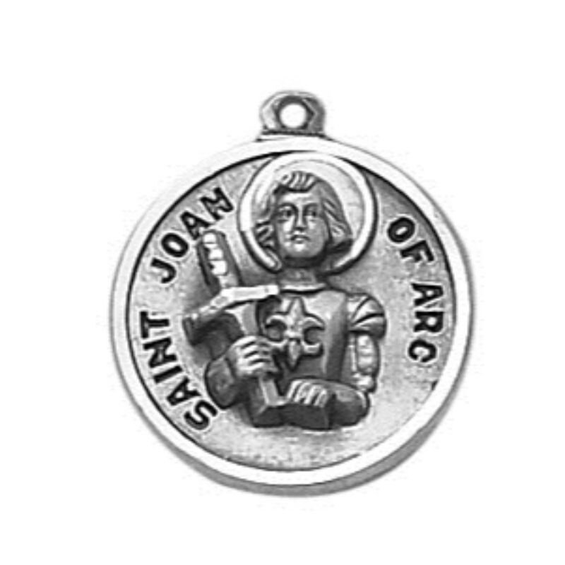 Creed® Sterling Patron Saint Joan of Arc Medal