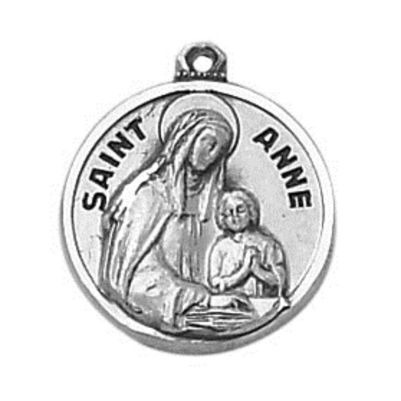Creed® Sterling Patron Saint Anne Medal
