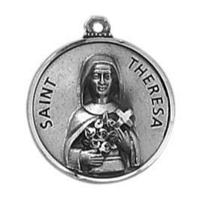 Creed® Sterling Patron Saint Theresa Medal