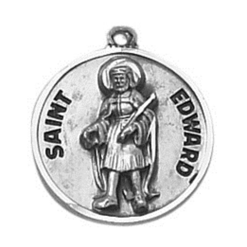 Creed® Sterling Patron Saint Edward Medal