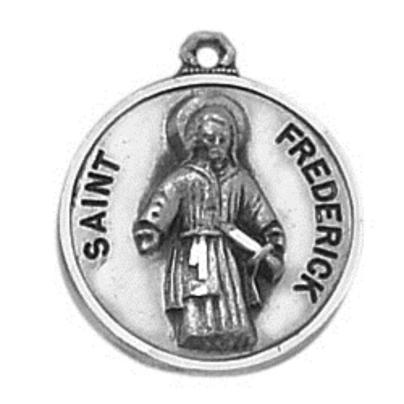 Creed® Sterling Patron Saint Frederick Medal