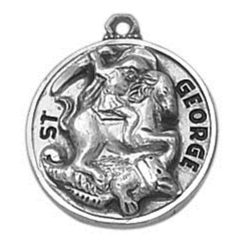 Creed® Sterling Patron Saint George Medal