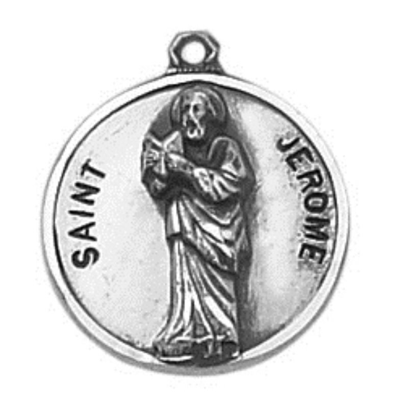 Creed® Sterling Patron Saint Jerome Medal