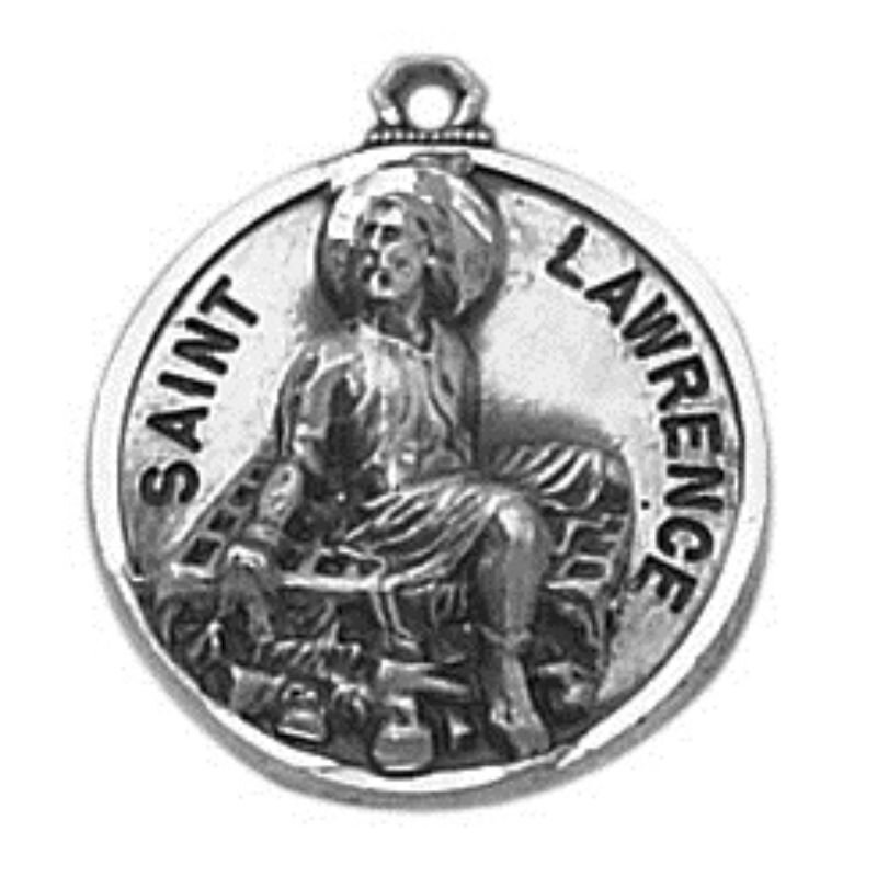 Creed® Sterling Patron Saint Lawrence Medal