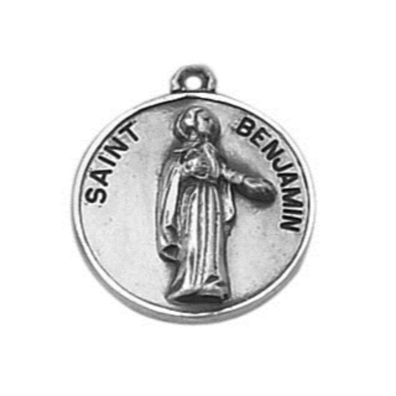 Creed® Sterling Patron Saint Benjamin Medal