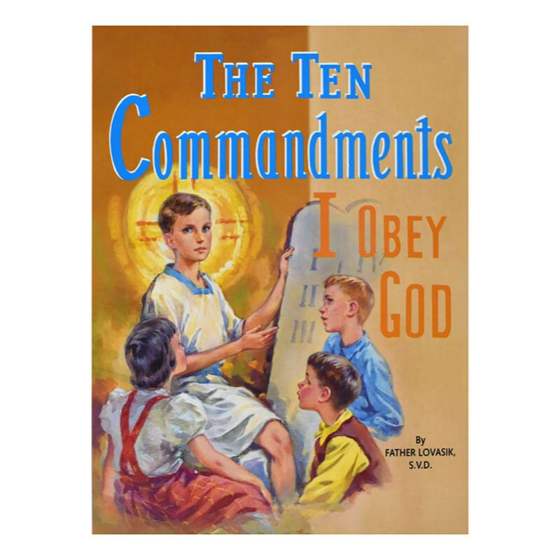 St. Joseph Picture Book - The Ten Commandments - 10/pk