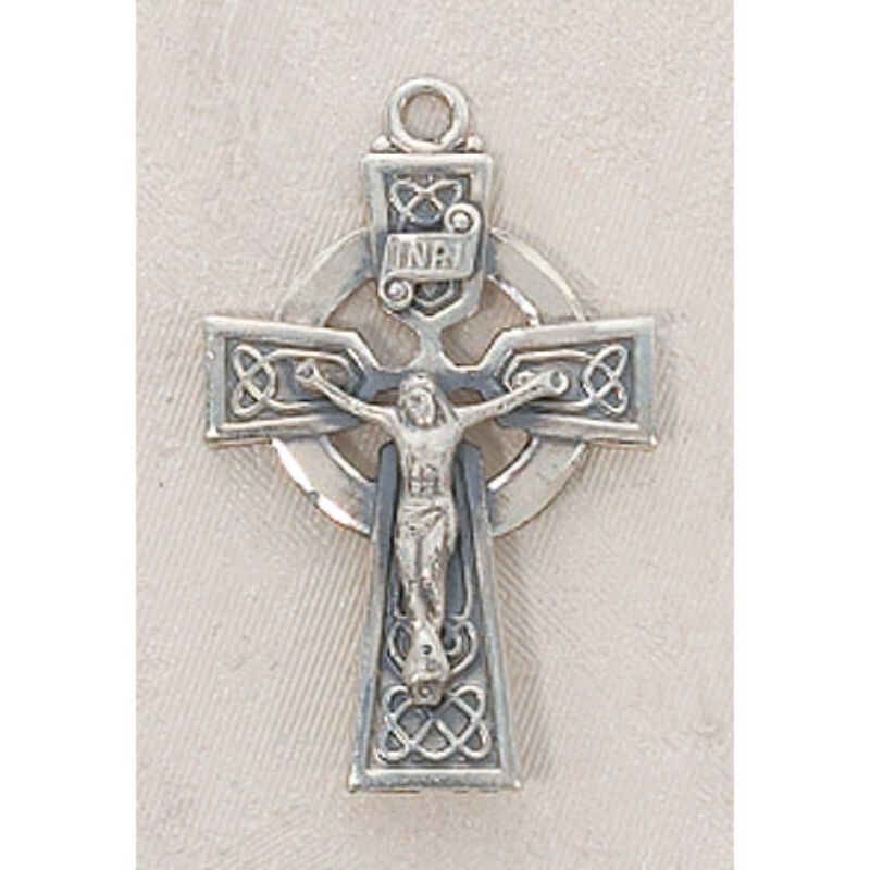 Creed® Sterling Silver Celtic Crucifix