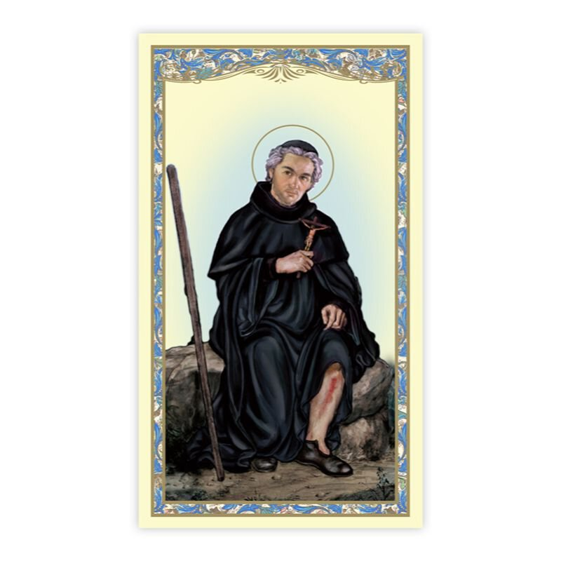 St. Peregrine Holy Card - 100/pk
