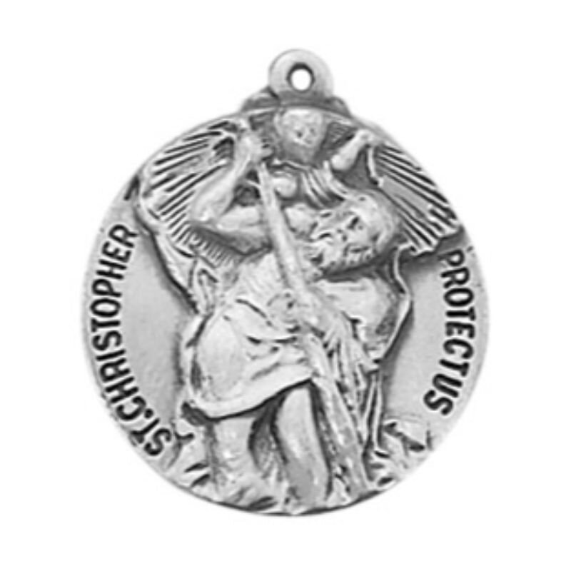 Creed® Heritage Collection St. Christopher Medal