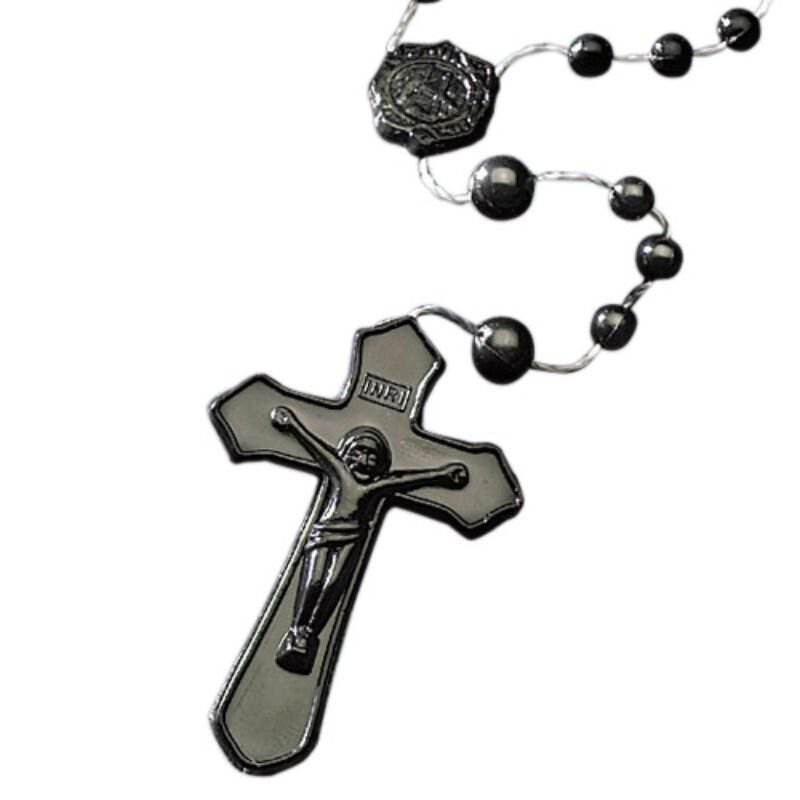 Black Cord Rosary - 100/pk