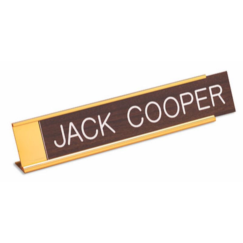 "10"" Desk Name Plate"