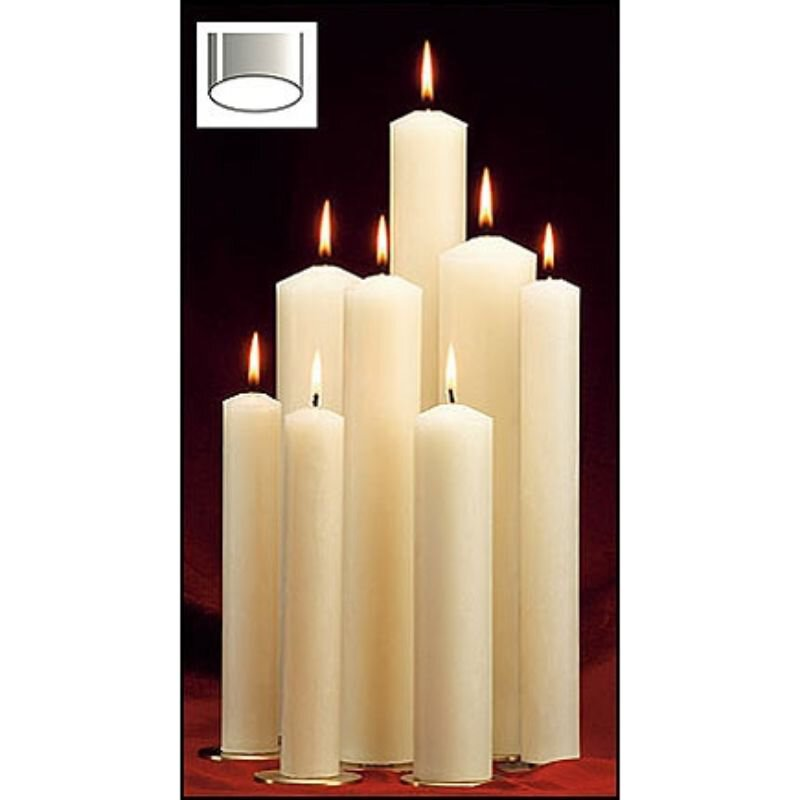 2 x 24 51% Beeswax Candle""