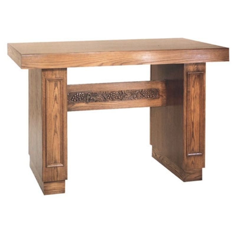 Oak Altar Table