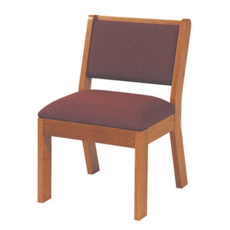 Chair with Rear Under seat Book Rack