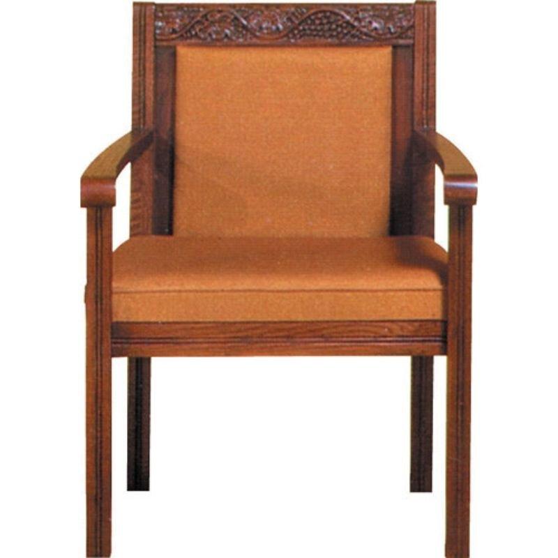 Sanctuary Oak Center Chair