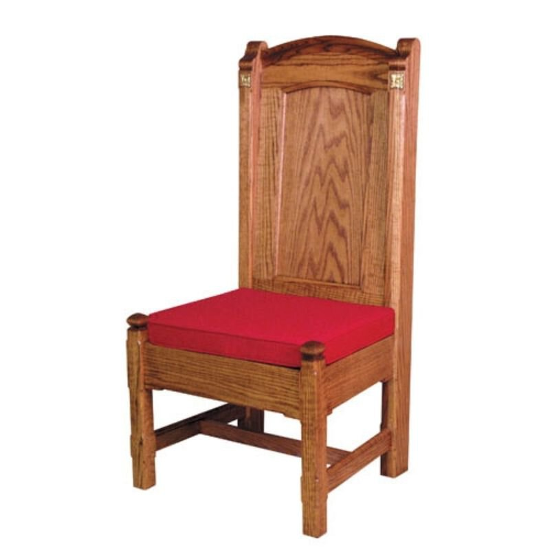 Side Chair With a Reversible Cushion