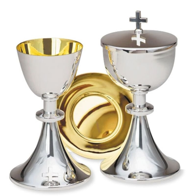 Chalice and Well Paten Set