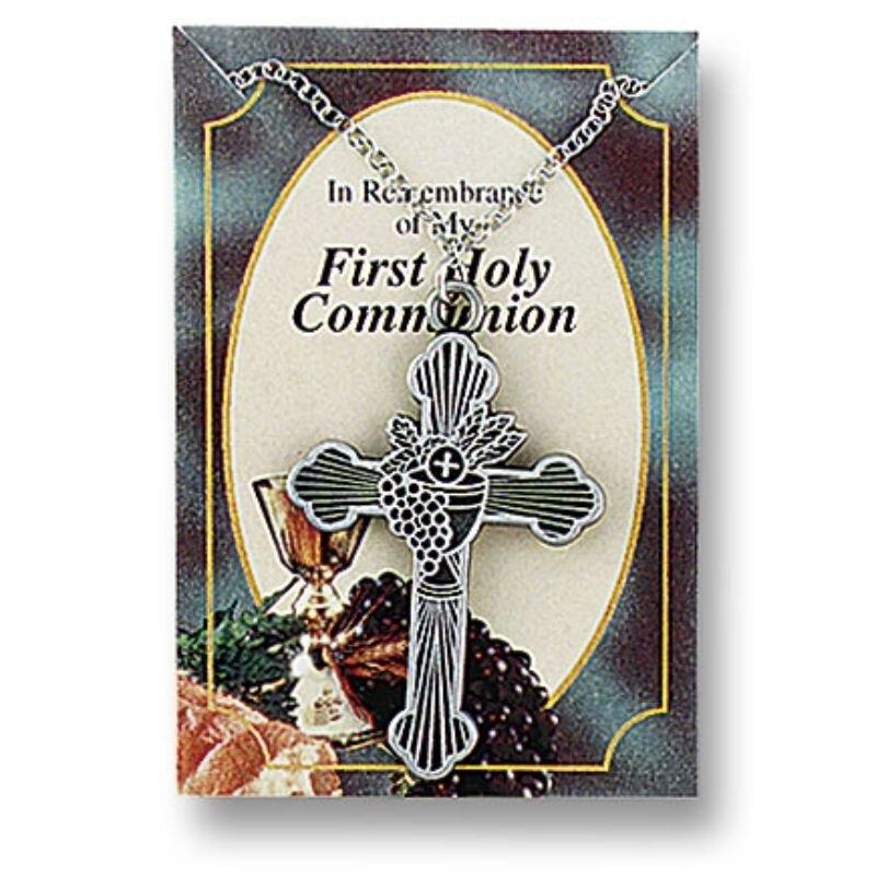 Body of Christ First Communion Cross Pendant – 12/pk