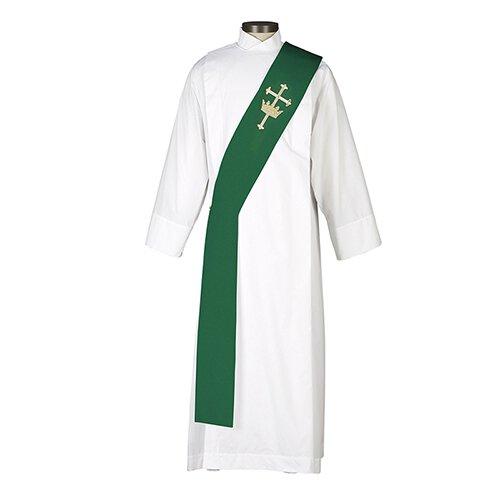 Cross & Crown  Deacon Stole