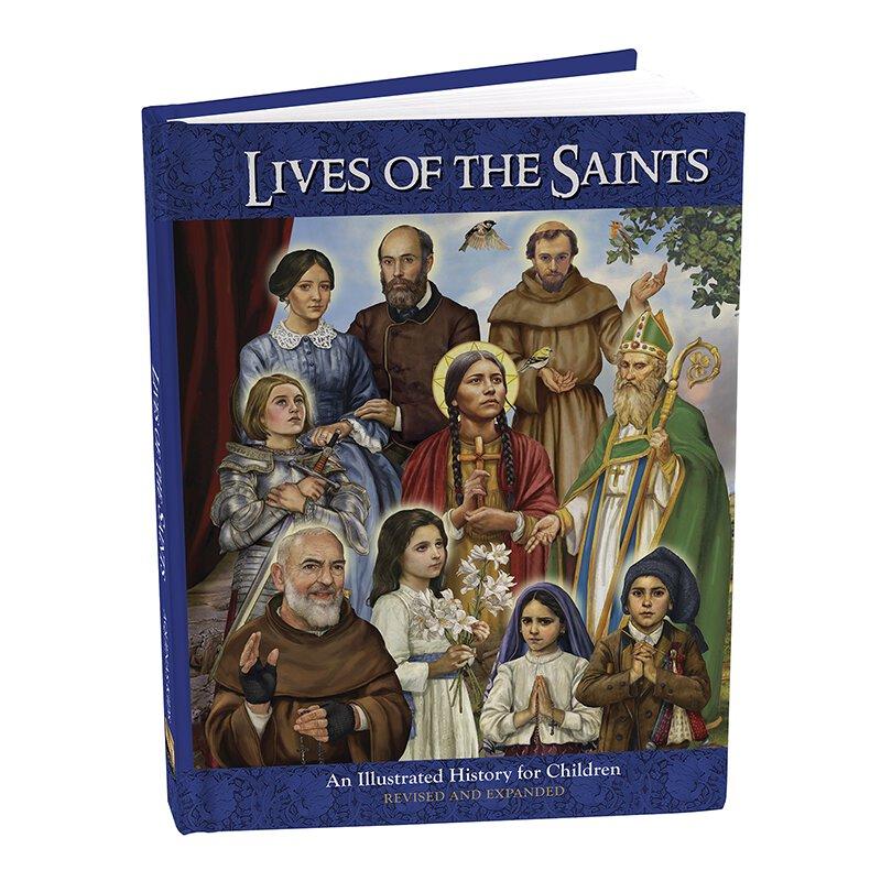 Aquinas Press® Illustrated Lives of the Saints Book ...