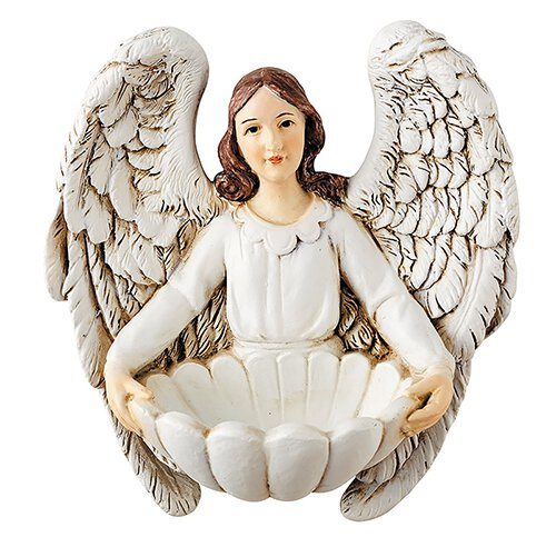 Angel Holy Water Font - 6/pk