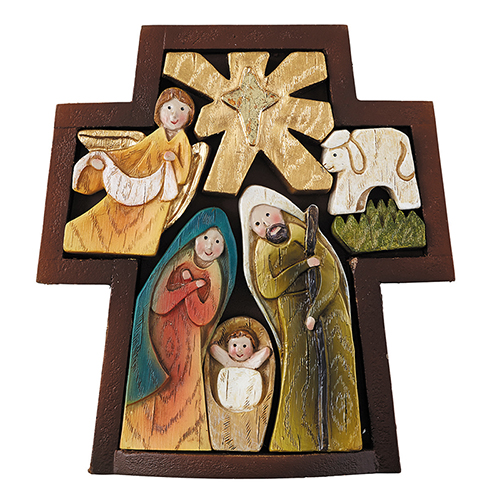 8-pc Magnetized Cross Nativity Set