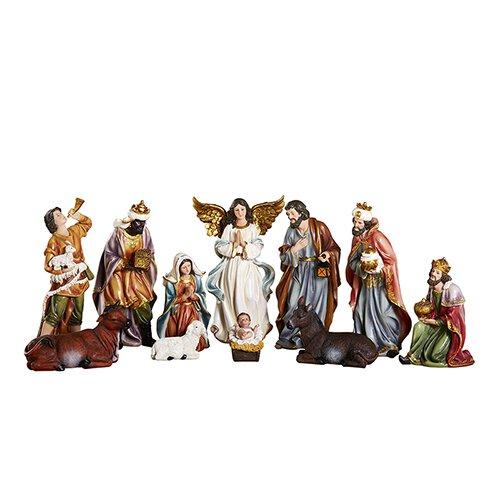 11-pc Nativity Set