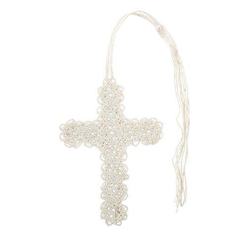 Crochet Cross Bookmark - 24/pk