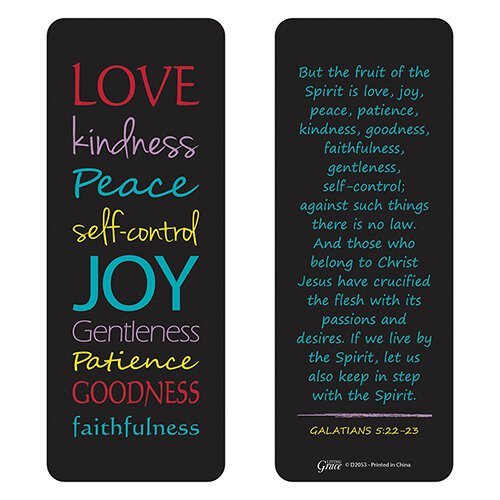Fruit of the Spirit Jumbo Bookmark - 36/pk