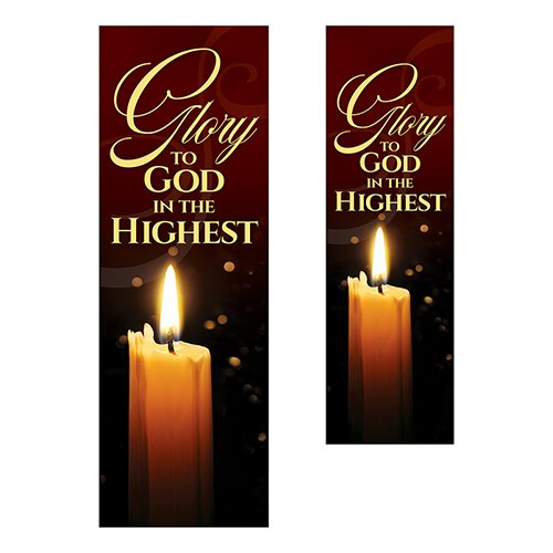 Glory to God in the Highest Banner