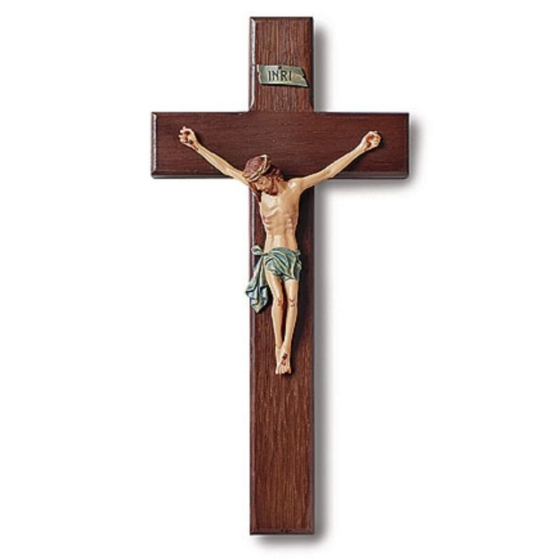 "10"" Traditional Crucifix"