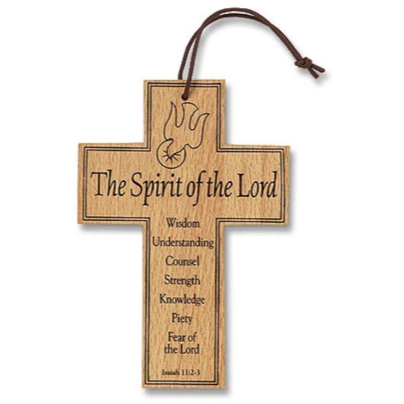 Confirmation Wood Prayer Cross - 12/pk