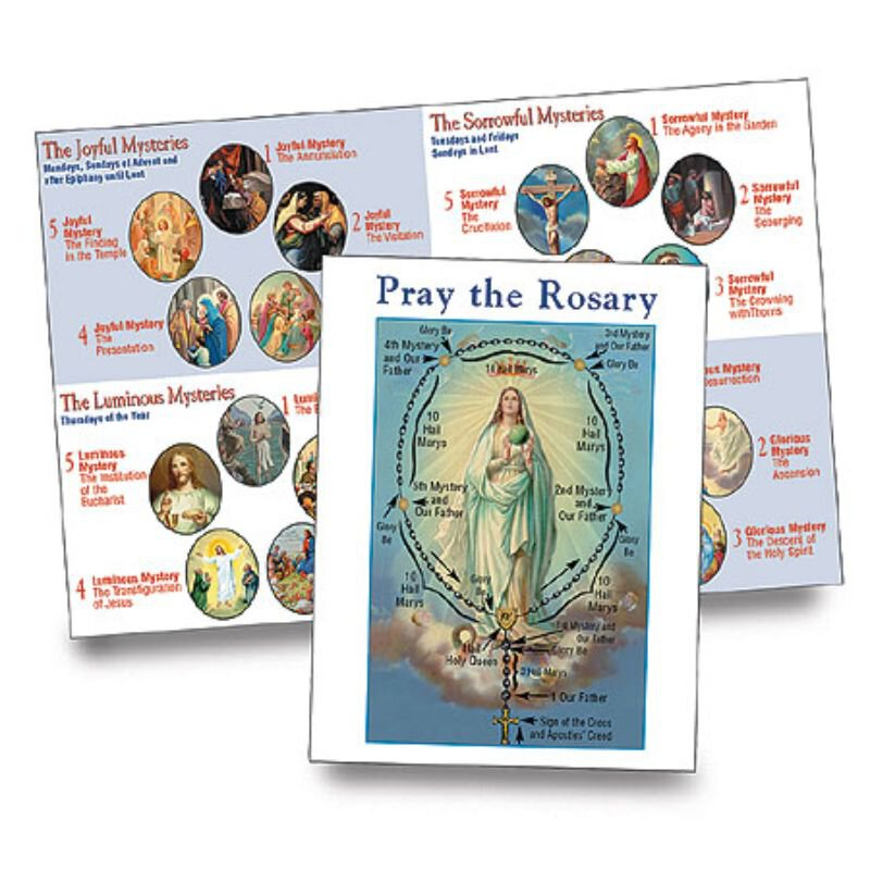 Pray the Rosary Booklet - 100/pk