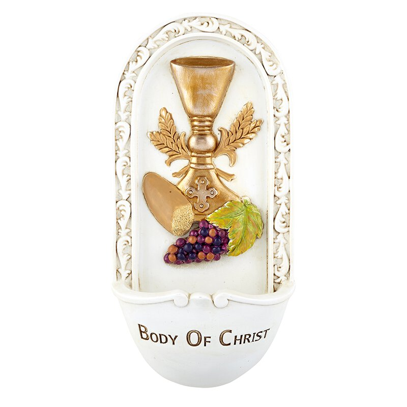 Body of Christ First Communion Holy Water Font - 2/pk